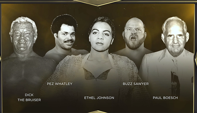 WWE Hall of Fame Legacy Wing 2021