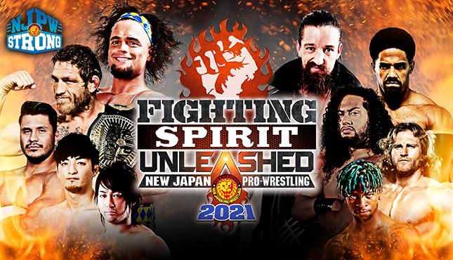 NJPW Strong Fighting Spirit Unleashed
