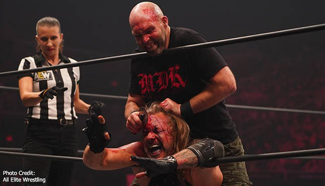 Chris Jericho Nick Gage AEW Dynamite Fight For the Fallen