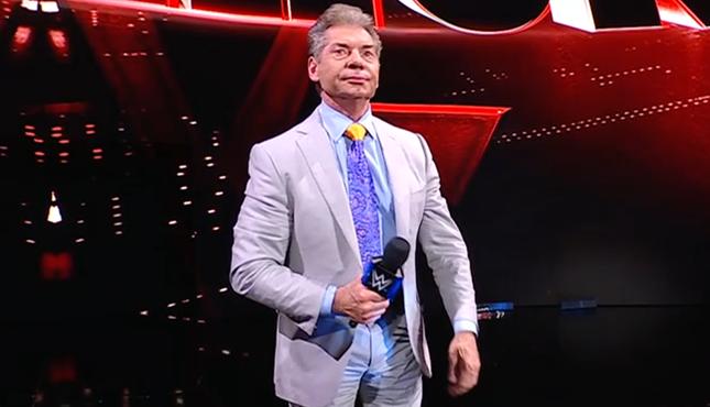 Vince McMahon WWE Smackdown 7-16-21