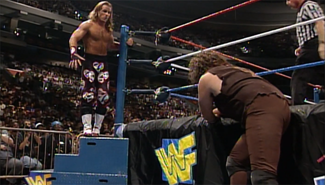 WWE In Your House Mind Games Shawn Michaels Mankind