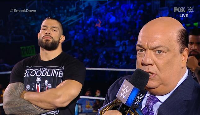 Roman Reigns Paul Heyman WWE Smackdown